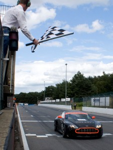 Finish Aston Martin GT4 2011